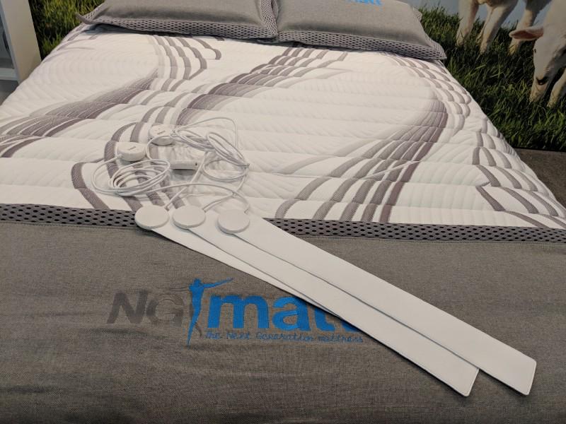 Emfit Sleep Tracker and NG Matt Mattress